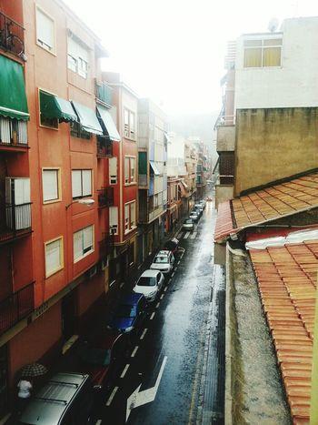 Por fin llueve bien! Enjoying Life Streetphotography Taking Photos Dias De Lluvia Hello World Street Gallery