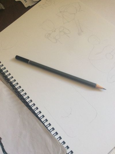 Drawing struggles First Eyeem Photo