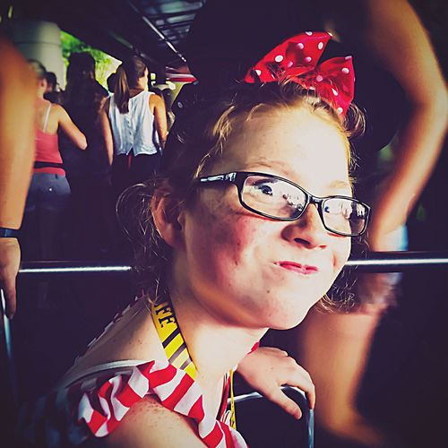 Portrait Of A Woman is also Portrait Of A Girl Adolescence  Still Aglow With The Spark Of Youths Fire Makes Momma Laugh To See That She Hasn't Lost That Childish Bit Of Her That Acts Foolish In Public Places Taking Photos Goofy STILL HAS NOT DEVELOPED THE UBIQUITOUS ADOLESCENT EGO!! My Unique Style Birthdaygirl Party at DisneyWorld Dressed Up Like Minnie Mouse Great Memories EyeEm Best Shots From My Point Of View Check This Out Family Vacation This Silly Face Brightens Up Even My Darkest Days! EyeEm Best Shots - People + Portrait The Innovator