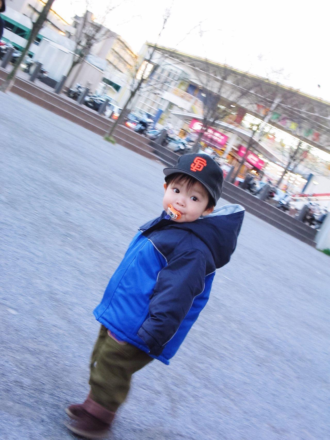 Little baseball fan Sports Fan Boy Toddler  Toddlers  Toddlerlife Pacifier Fashion Winter Wintertime Baseball Cap
