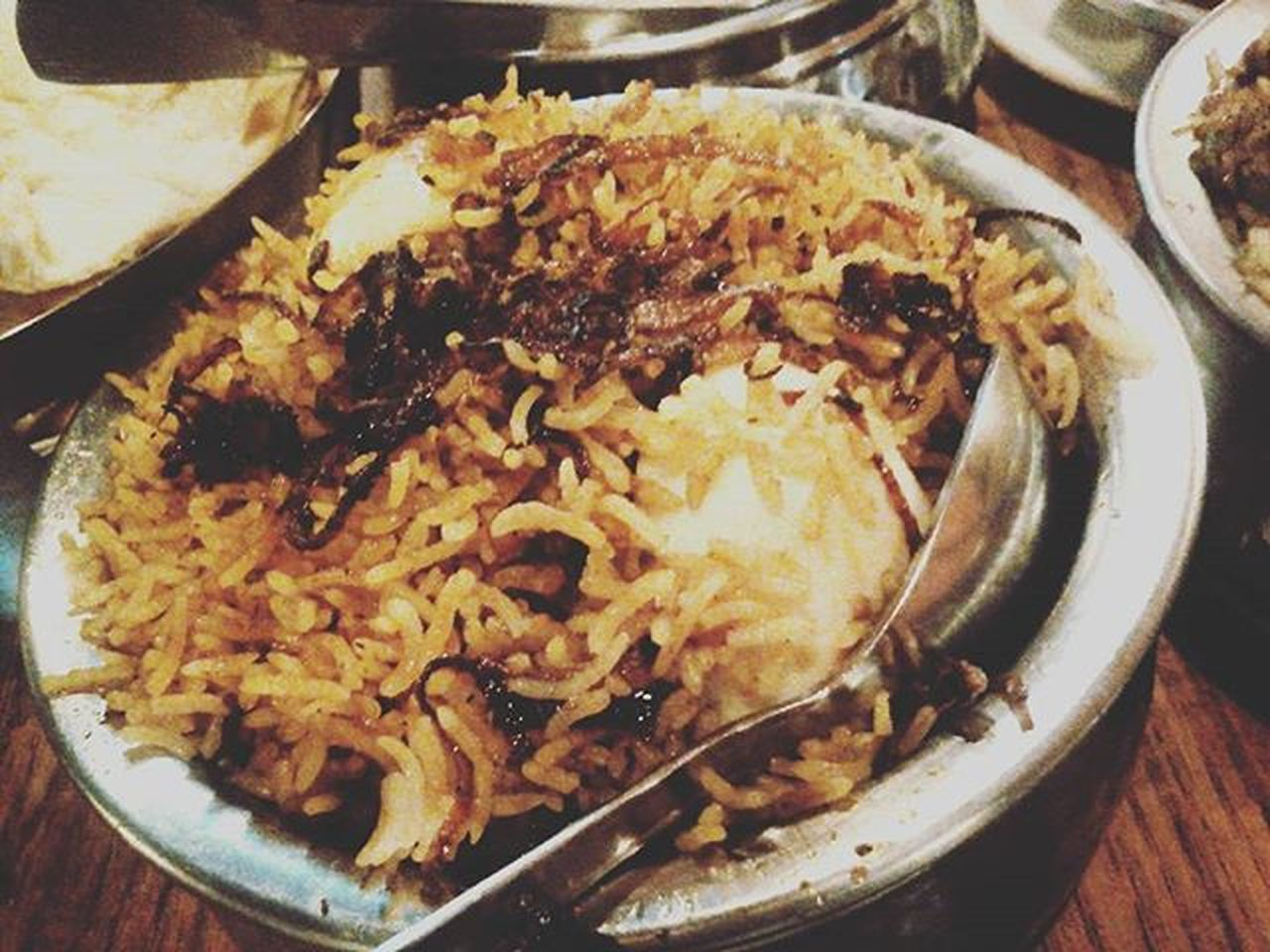 Chickendumbiriyani Slicedegg Friedonions Wellcooked Tenderjuicychickenpieces WorthEveryPenny Foodstagram Foodie Foodgasm Foodporn Foodblog Redbox