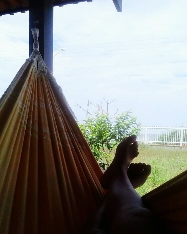 Relaxing Hello World Rede Praia First Eyeem Photo