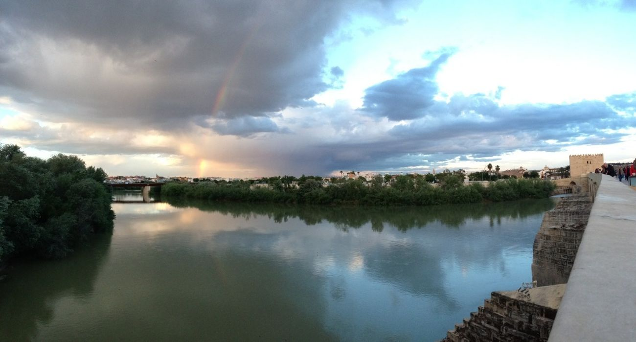 Cordoba, Rainbow, Guadalquivir