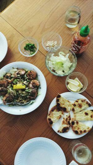 Last night's Thai dinner.