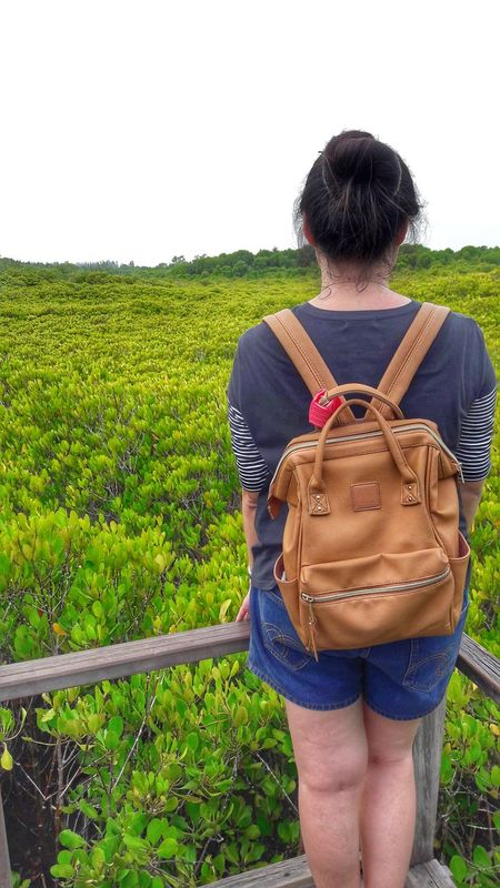 Rear View One Person Outdoors One Woman Only Greenwayphotography Traveling Home For The Holidays