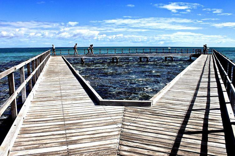 Hamelin Pool - Shark Bay - West Australia Worldharitage UNESCO World Heritage Site Stromatolites Hamelinbay Nature Reserve WesternAustralia Learn & Shoot: Leading Lines Australien Australia Sharkbay