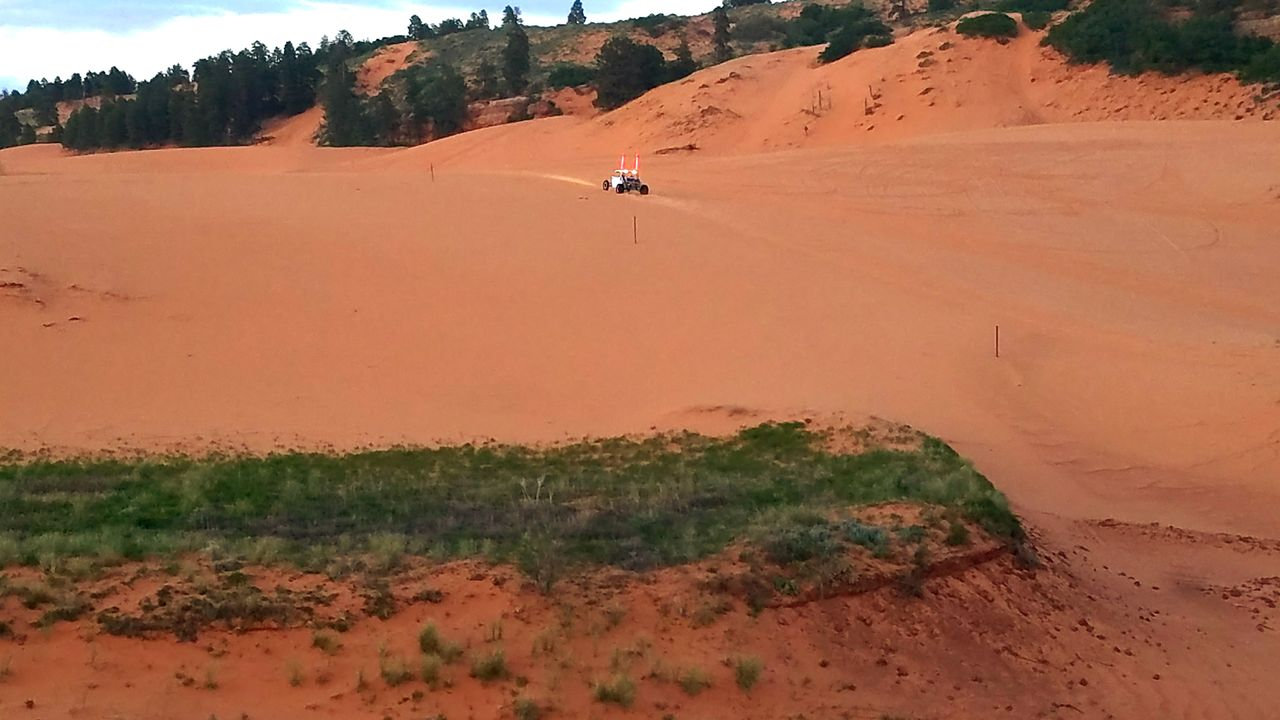Evening at the dunes Desert Adventure Sand Dune Landscape Extreme Sports Off Road Driving At The Dunes ATVing Atv Love 4x4 Time Off Roading ATV Riding Sand Arid Climate Desert ATV Ride Atv 4x4 Dusk Vehicle
