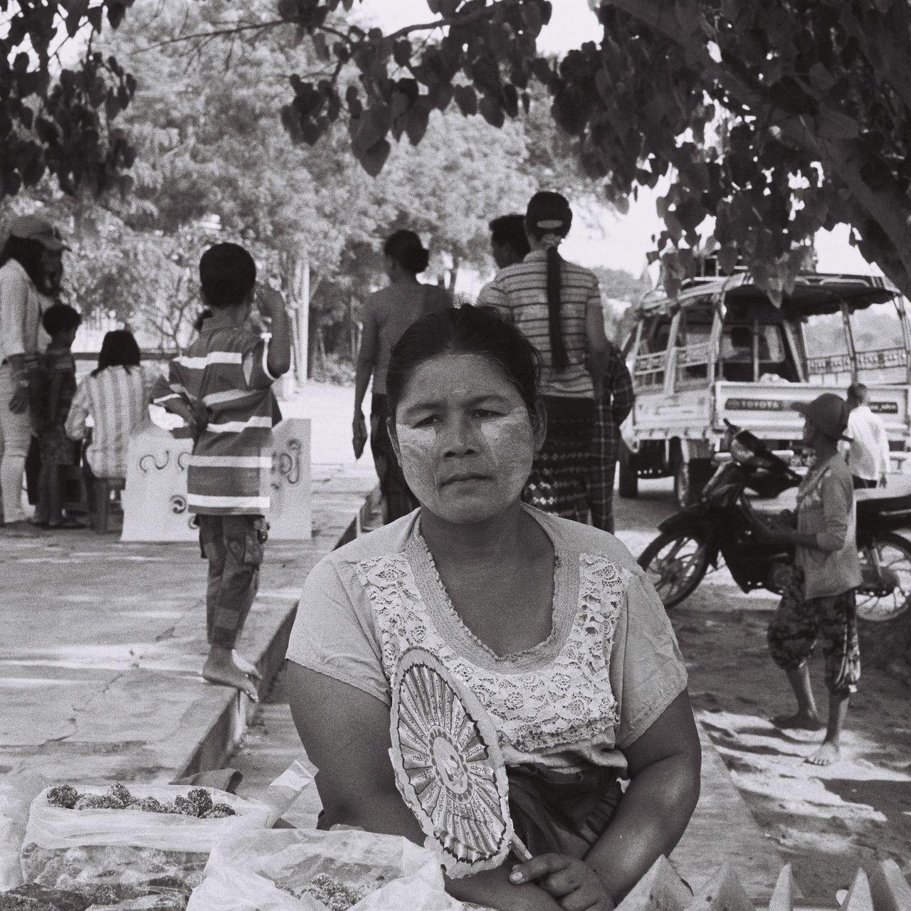 The Street Photographer - 2017 EyeEm Awards The Photojournalist - 2017 EyeEm Awards The Portraitist - 2017 EyeEm Awards Travel Destinations Black And White Real People Religion Portrait Lifestyles Iusefilm Ishootfilm 35mm Ilfordpan400 Backandwhite Bagan Bagan, Myanmar Myanmar