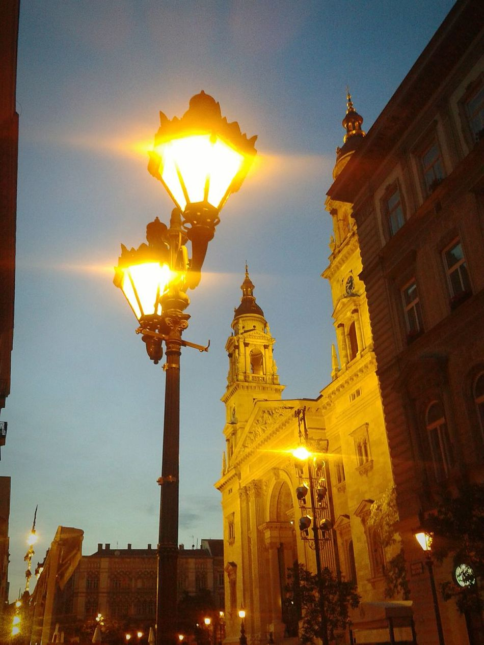 Budapest, Hungary Budapestbynight Church Street Lamp
