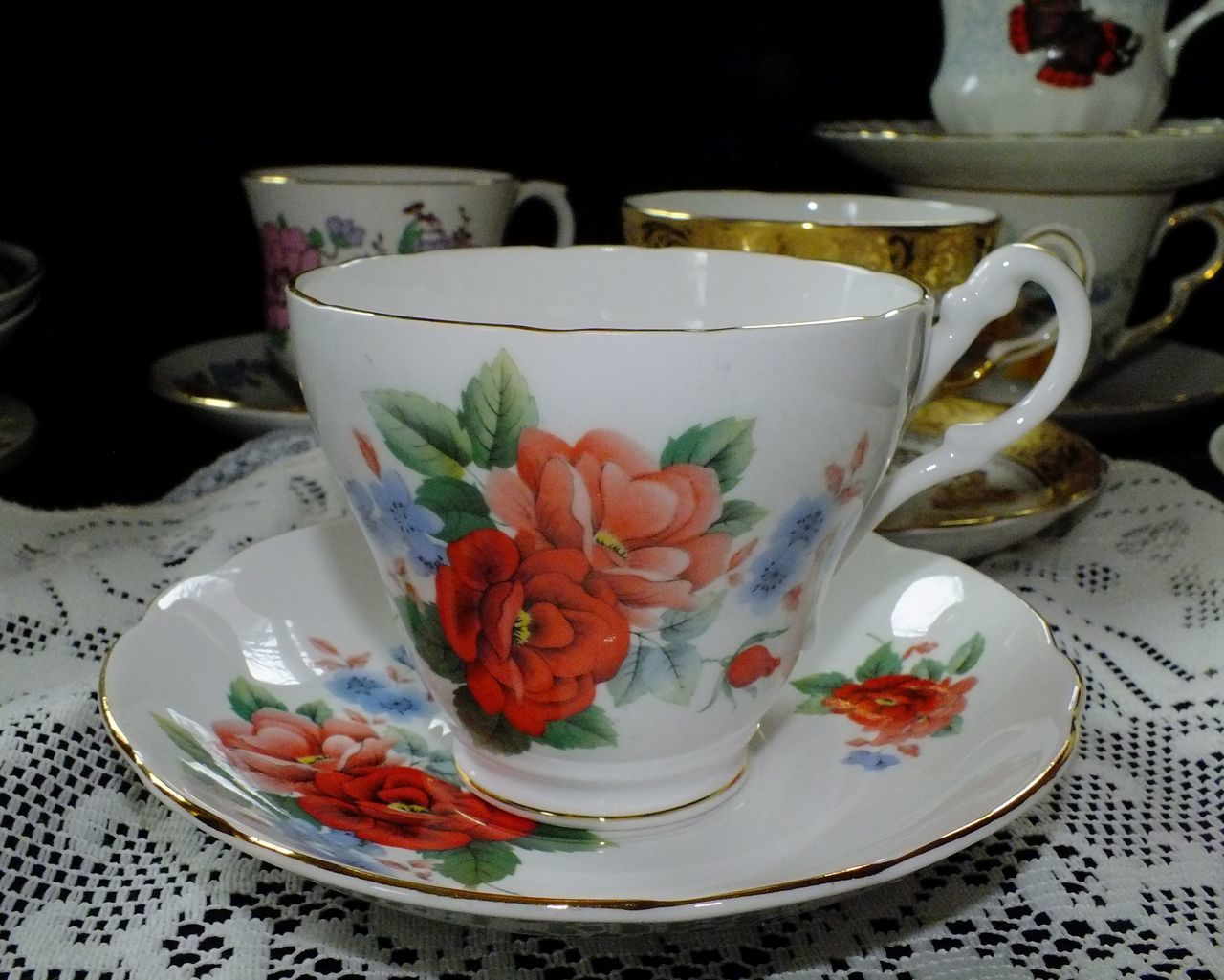 Afternoon Tea Afternoon Tea Time Collectibles Floral Tea Cup Rose Tea Rose Tea Cup Roses Still Life Still Life Photography StillLife StillLifePhotography Tea Tea Cup Tea Cups Tea Party Tea Time Teatime Vintage Vintage China Vintage Tea Vintage Tea Cups Vintage Teacups