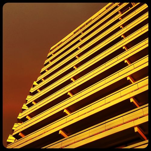 Flat Architecture Redglow Orangeglow Samsungphotography Samsung S6 Sunset