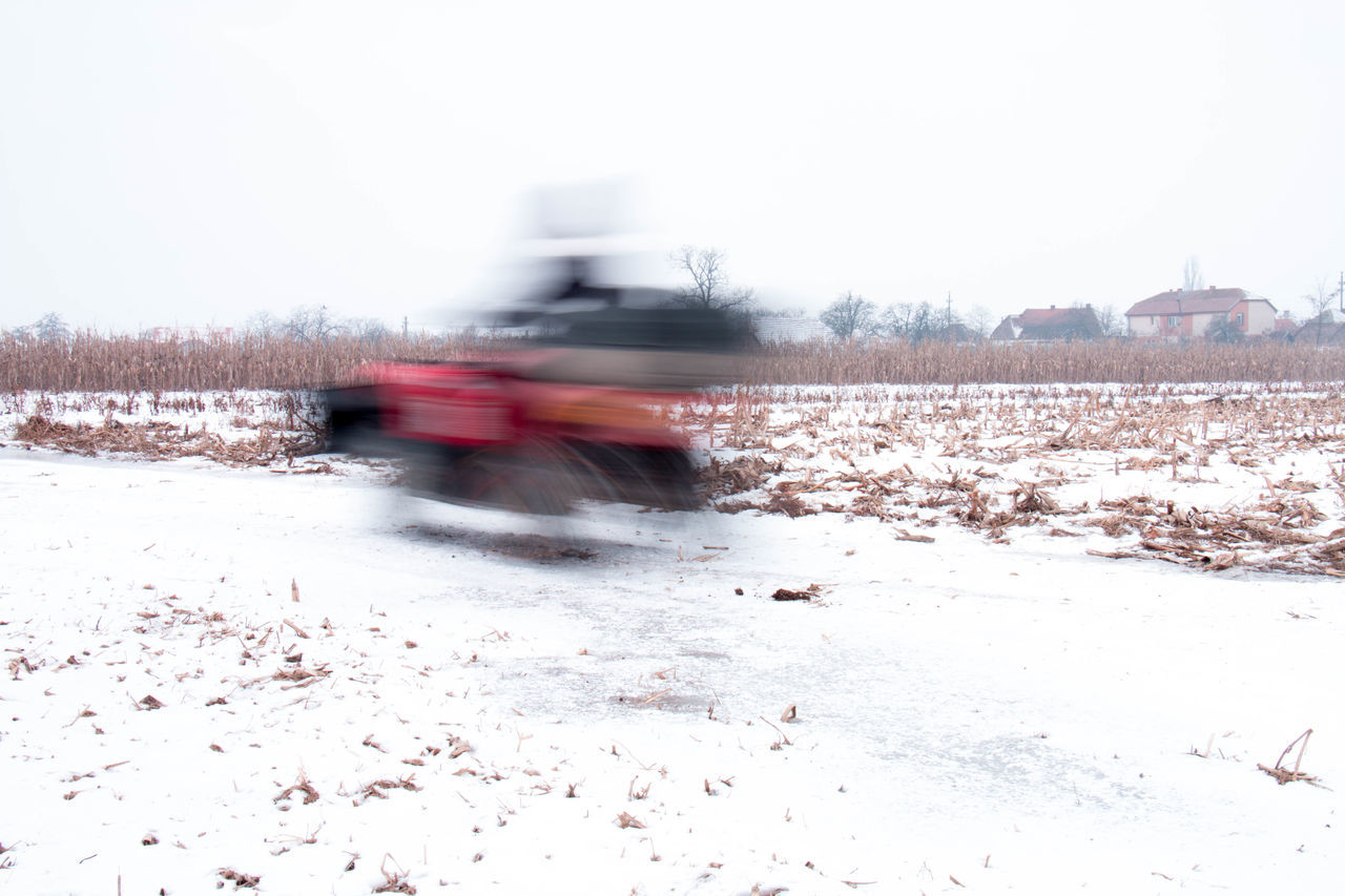 Agricultural Land Atv Day Driving Motion Motion Blur Motion Capture Motion Photography Motorsport Nature Outdoors Quad Quad Biking Snow Speed Winter Winter