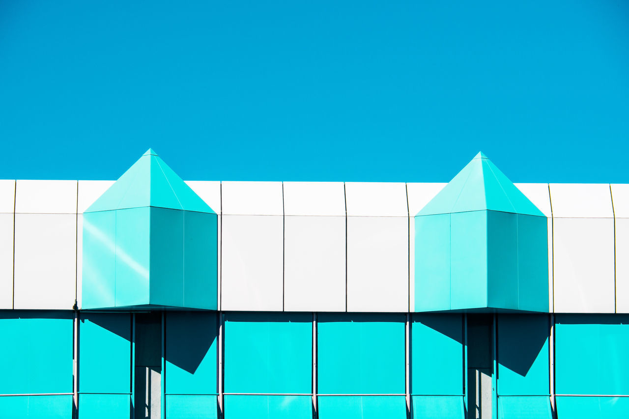 blue variations Abstract Architecture Blue Day Glass Minimalism Minimalist Architecture Minimalobsession Modern Multi Colored No People Outdoors Window