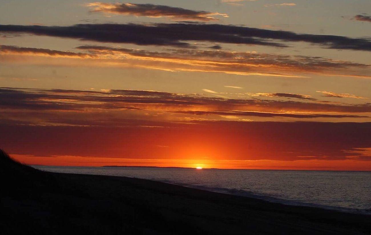 Sunset Sky Skyporn Ocean Provincetown  Capecod Beach
