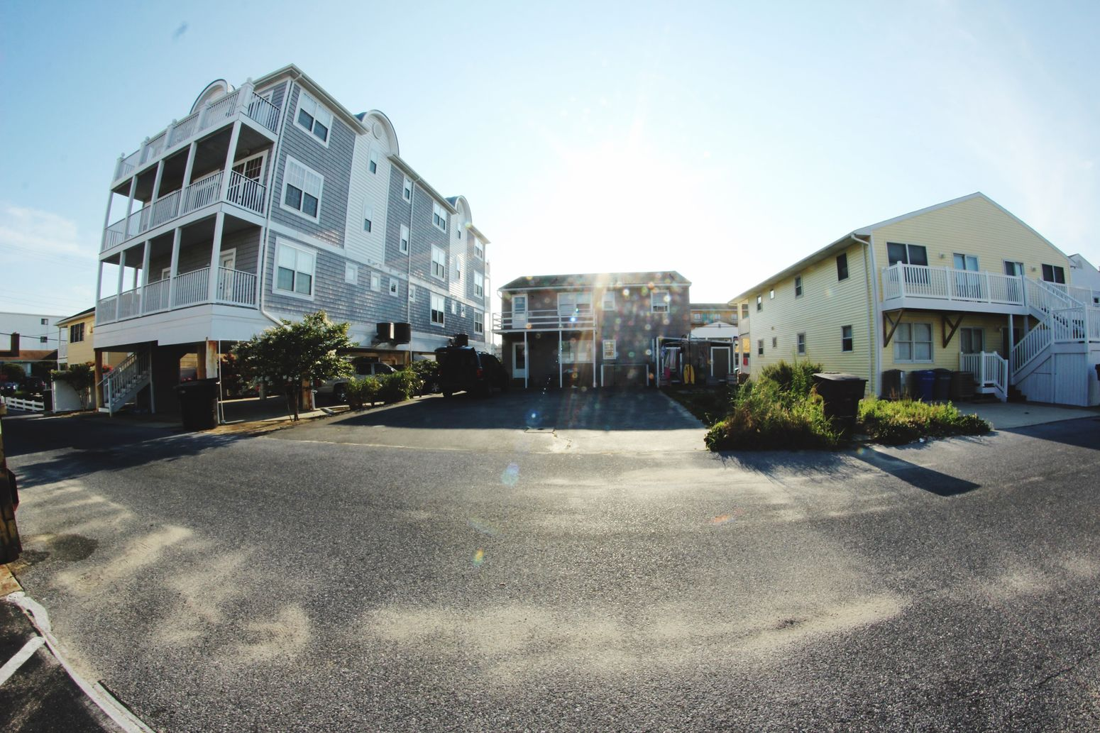 Fisheye makes our house look very Small , Lol :)