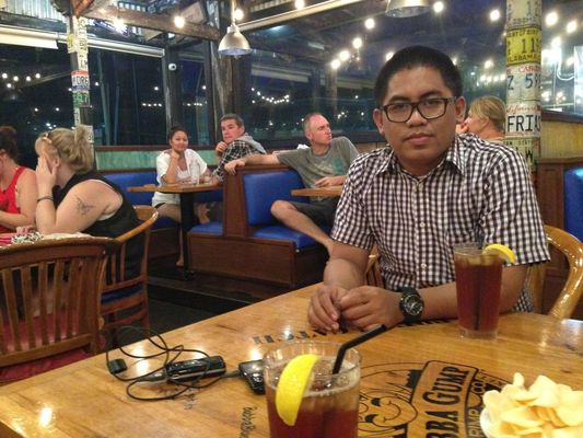 Seafood at Bubba Gump Shrimp Co. by Erlan Erlangga