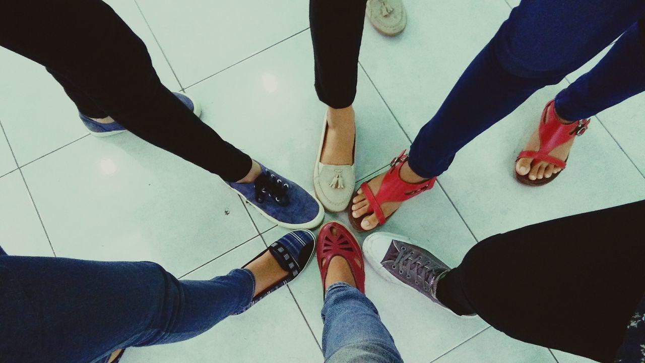 Friendstime Footshoot