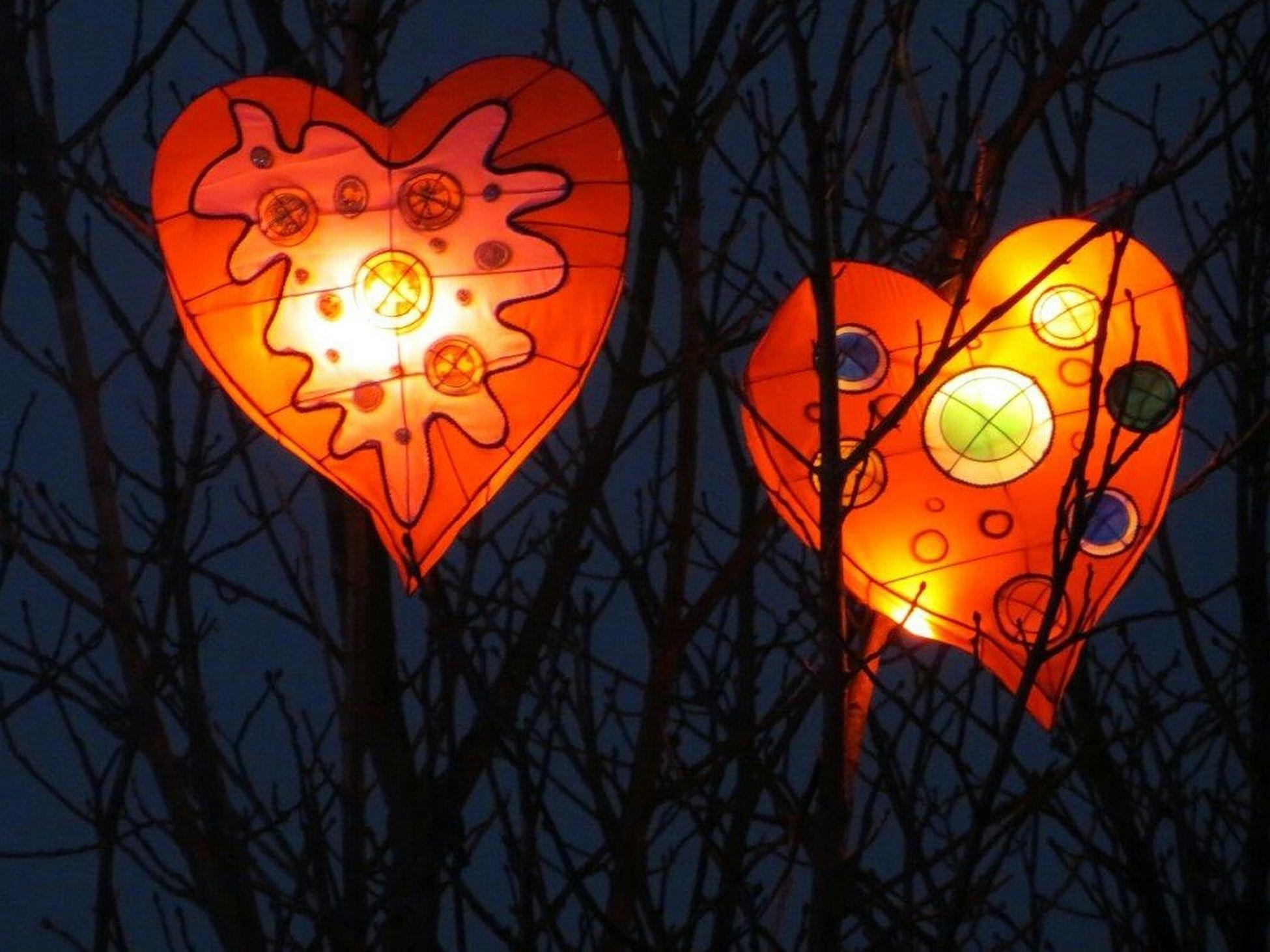 Missing Him Hearts Coeurs Metz Lorraine Sentier Des Lanternes No Filter Sans Filtre