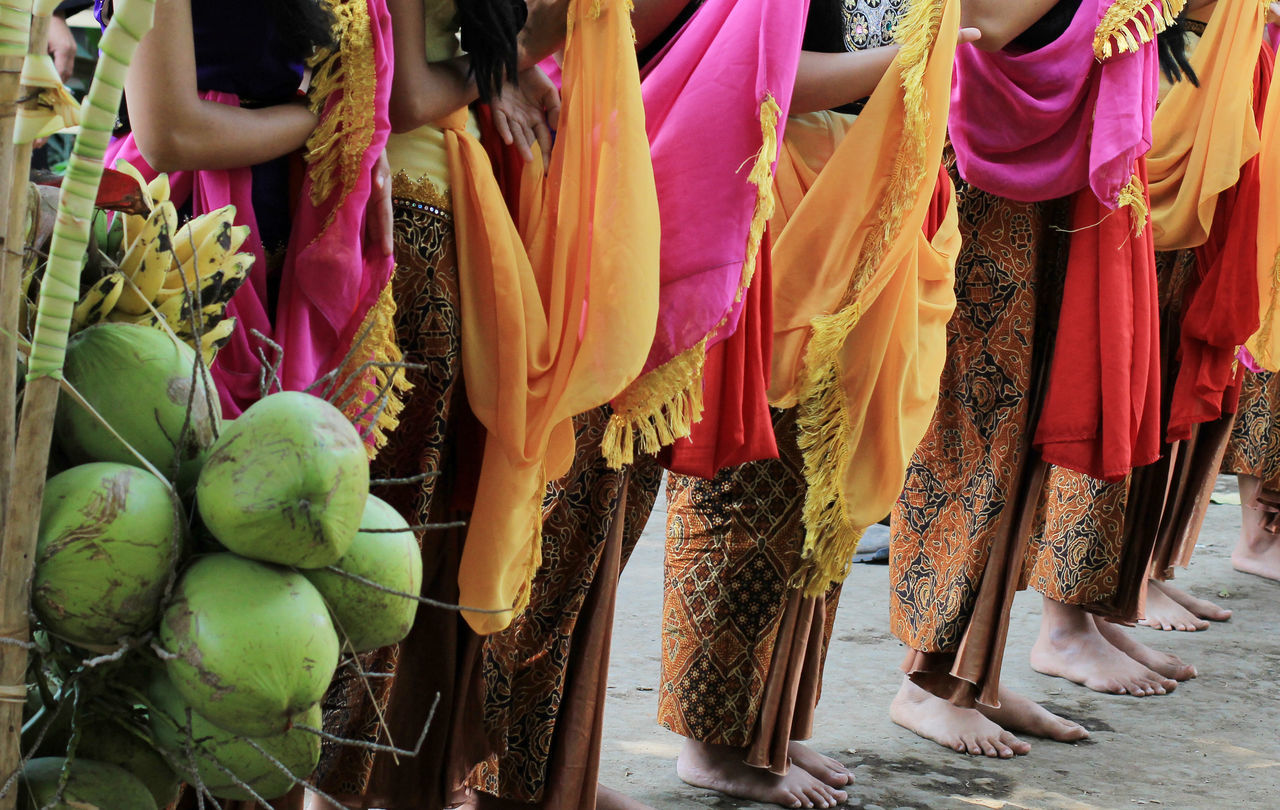 Traditional Folk Dance of Tari Buyung Cigugur west Java Cigugur Culture Dance Folk Dance INDONESIA Javanese Culture Kuningan Large Group Of Objects Low Section Only Women People Ritual Sari Serentaun Sundanese Culture Tari Buyung Traditional Traditional Culture