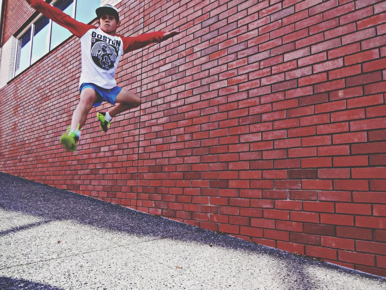 defying gravity after a library visit Hanging Out The Moment - 2014 EyeEm Awards