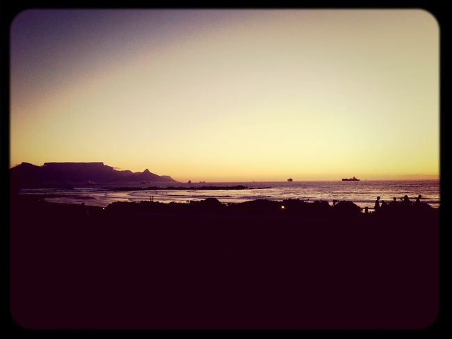 Discover Your City Tablemountain Sunset Cape Town