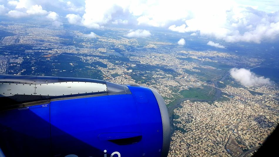 Window Airplane Sky Transportation Cloud - Sky Blue Nature Looking Through Window Air Vehicle Aeroplane Window View Flightview City From Flight View City From Air City From Flight Window View City From The Sky