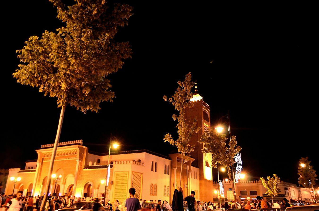 Oujda City, Morocco Ramadan Nights رمضان_كريم Medina Oujda By Night الحمد لله Mosque مسجد
