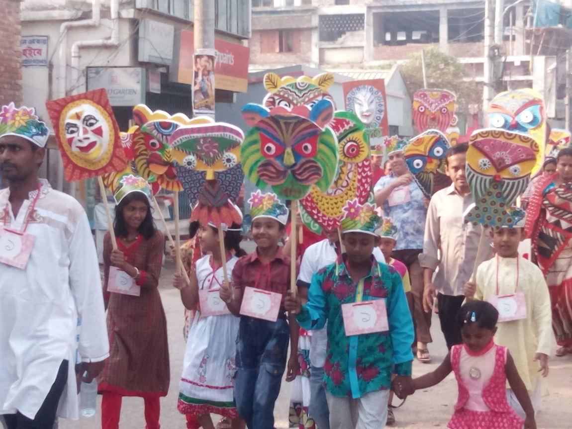 Boishakhi mela shovo jatra by Children At Jessore, Bangladesh First Eyeem Photo