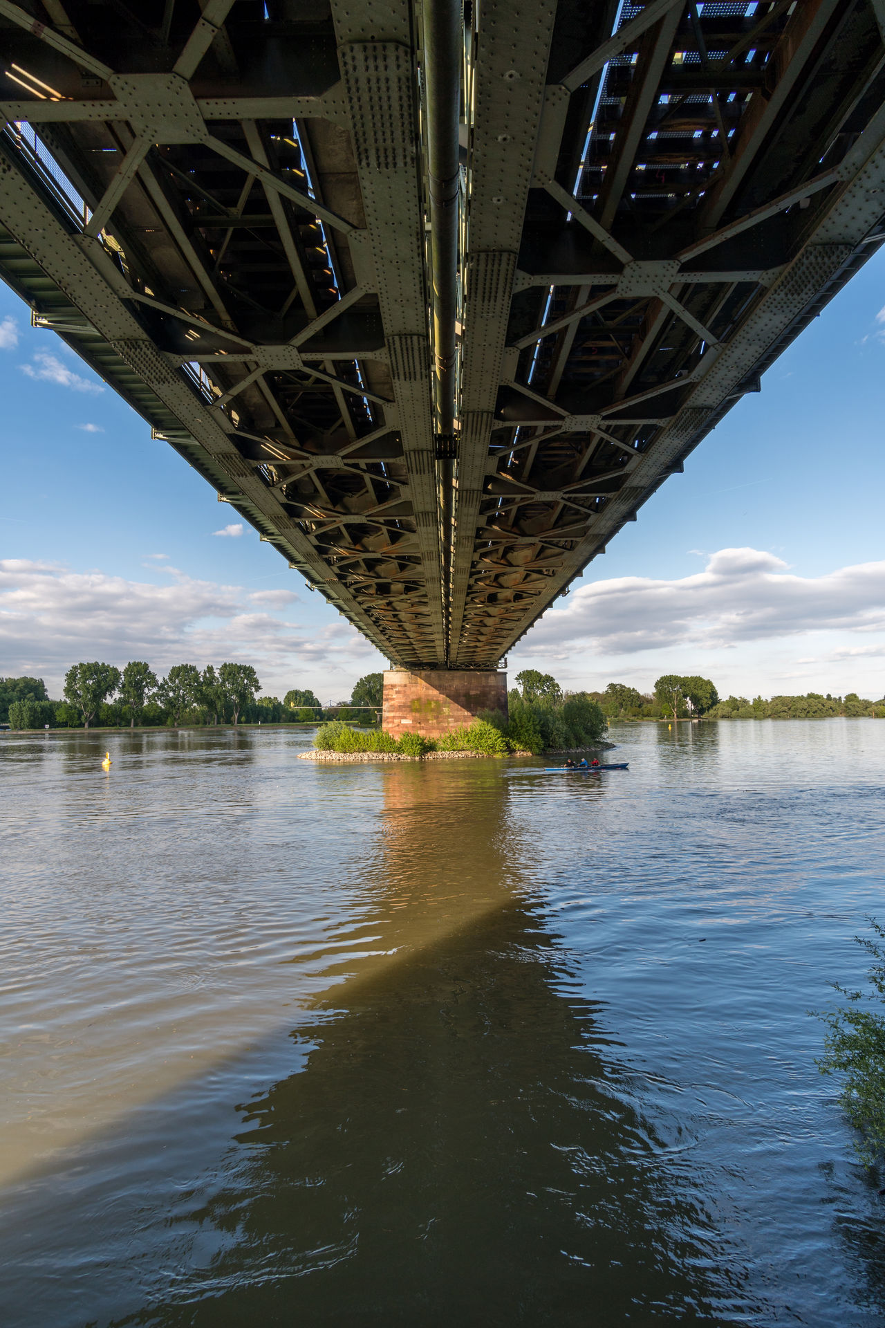 Architecture Below Bridge Bridge - Man Made Structure Built Structure Chain Bridge Connection Day Engineering Nature No People Outdoors River Sky Transportation Tree Under Underneath Walimex 12mm Water Waterfront