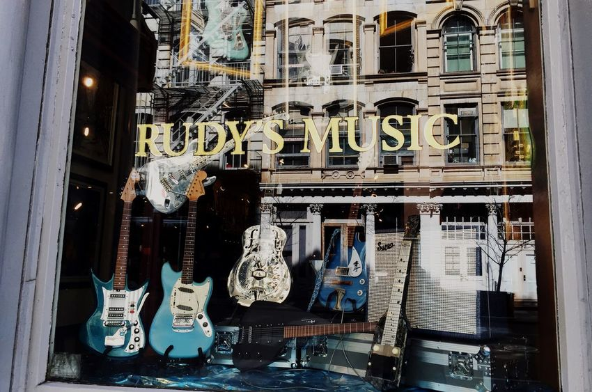 Windowshotwednesday Window Reflections New York Cityscapes Streetphotography Musical Instruments Beauty In Ordinary Things