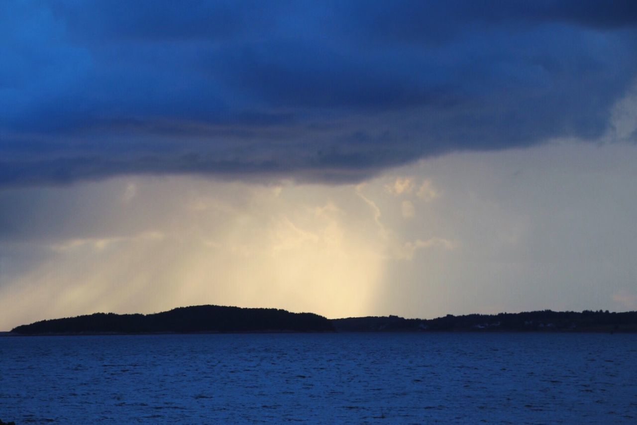 Light show Beauty In Nature Scenics Outdoors Sky Sea Moody Weather Moody Sky Clouds And Sky Nordic Lights Scandinavia Norway Visitnorway Molde Travel Destinations Visitmoreogromsdal Horizon Over Water