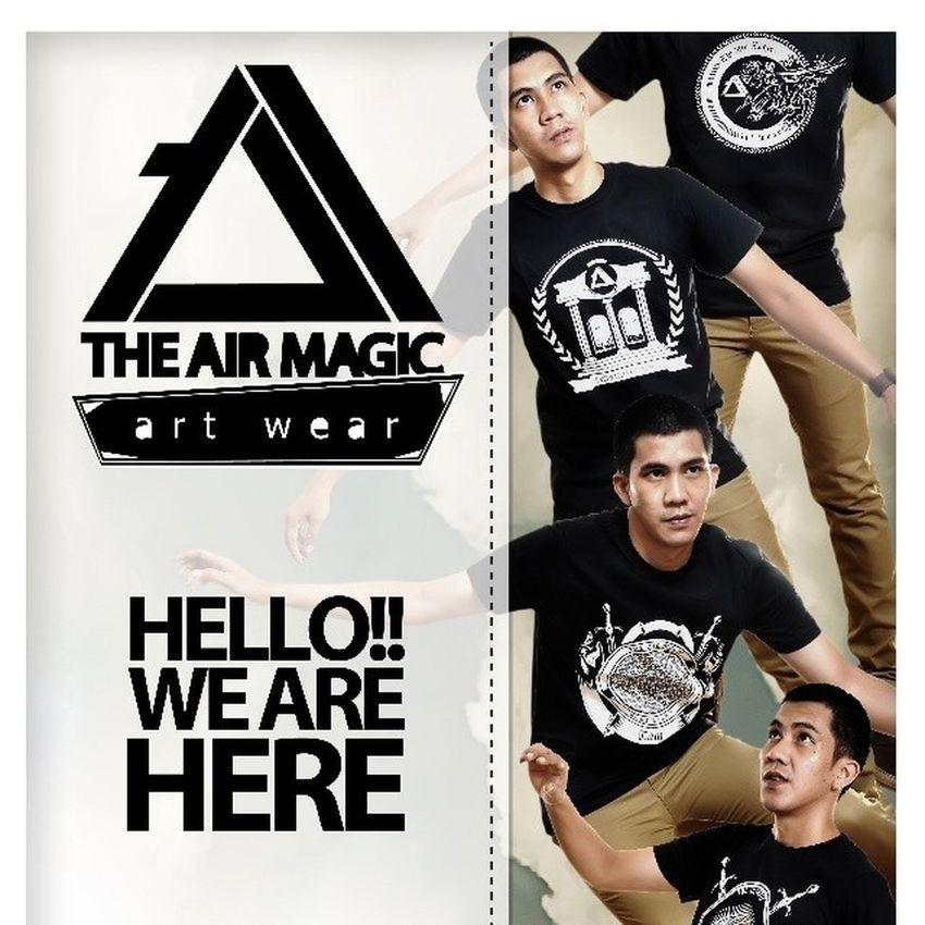 An ad from 2013 with THE AIR MAGIC artwear. That's Me Theairmagic Ads I Love This Brand