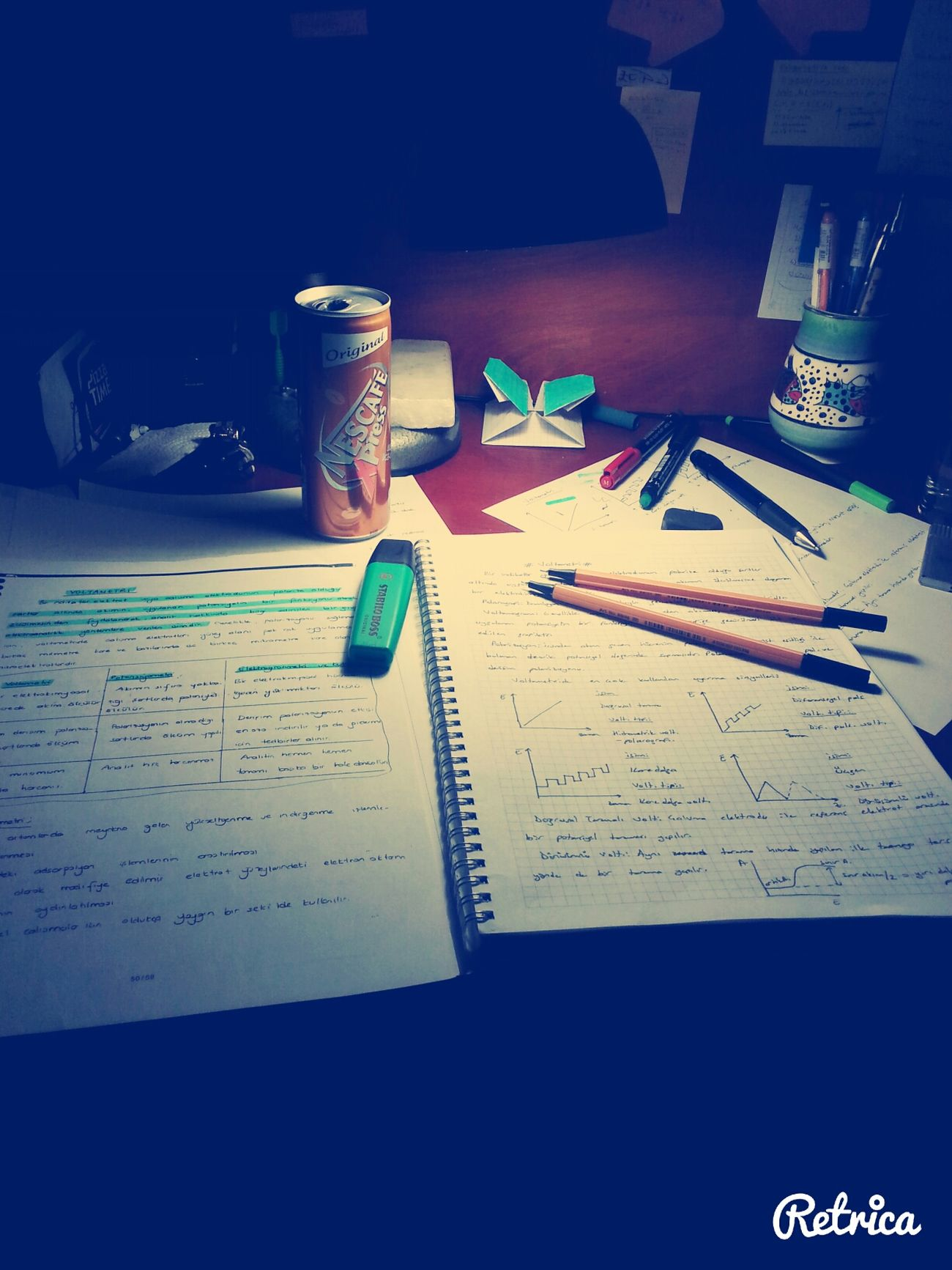 Taking Photos Chemistry(: Study Hard Nescafexpress