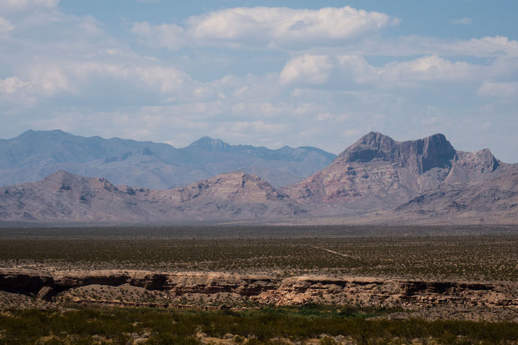 Desert Arid Climate Beauty In Nature Cloud - Sky Landscape Mountain Mountain Range Mountains Mountains And Sky Nature Nevada No People Scenics Sky Tranquil Scene Tranquility