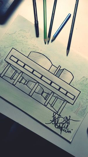 Villa Savoye Sketck Sketch Villa Savoye Le Corbusier