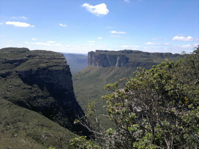 #Bahia-BR #Brasil #chapada Diamantina #i Love It #Nature  Beauty In Nature Canions Cloud - Sky Day Geology Growth Landscape Nature No People Outdoors Physical Geography Scenics Sky