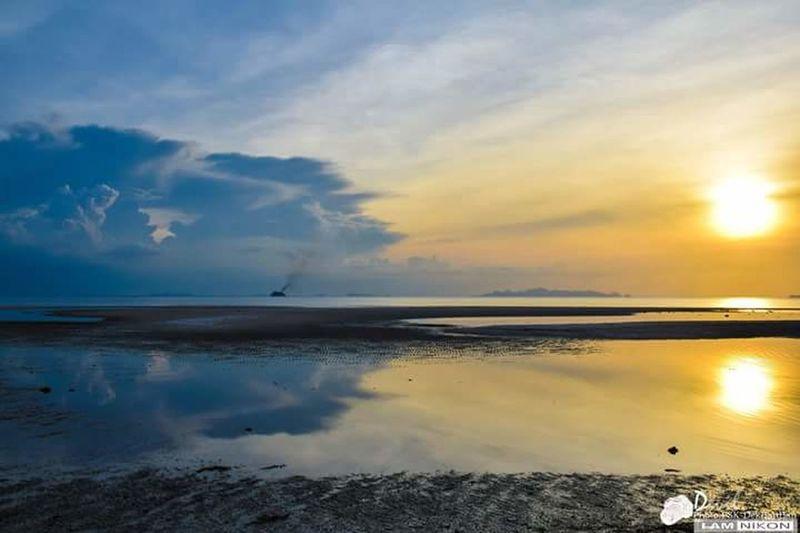 First Eyeem Photo Sky And Clouds Sea And Sky Samui Thailand Sunset Sea