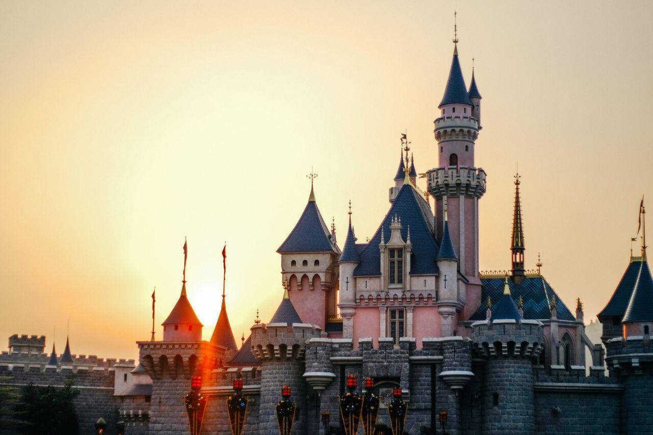 Fujifilm Sunset Outdoors Fujifilm_xseries FUJIFILM X-T1 Explore Hk Castle Disney Disneyland