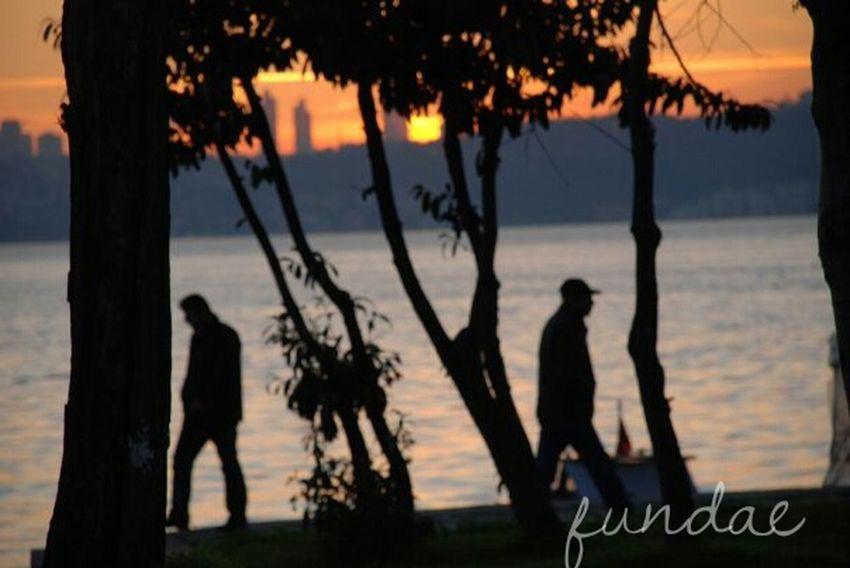 Bosphorus Sunset Sunset Istanbullovers Taking Photos