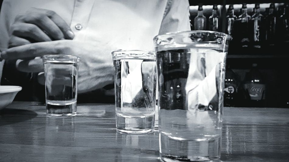 Tequila Shots Tequila! Shots Drinks Check This Out EyeEm Best Shots Popular Photos Blackandwhite Photography Bar
