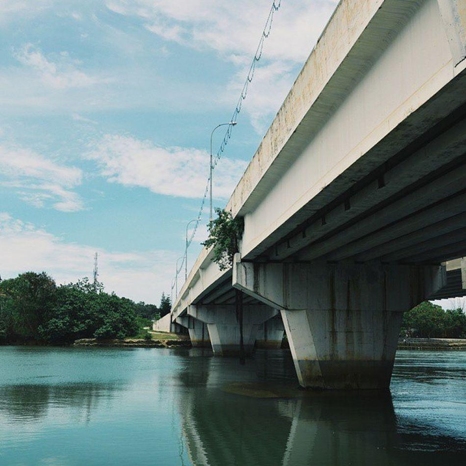 Under Geliga's bridge Igers Igersganu Igersmalaysia VSCO Vscocam Kemaman