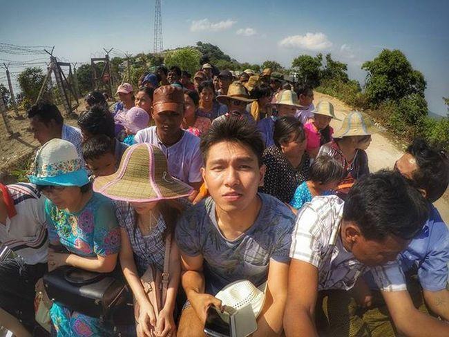 Unexpected Journey Kyaiktiyo Kyaiktiyopagoda Pagoda Goldenrock Goldenpagoda Igersmyanmar Myanmar Burma Instagood Instagram Instagrammers Gopro Hero4sliver Goprohero4 Goprophoto Goprooftheday Goprophotography Travelgood Vacationinstyle
