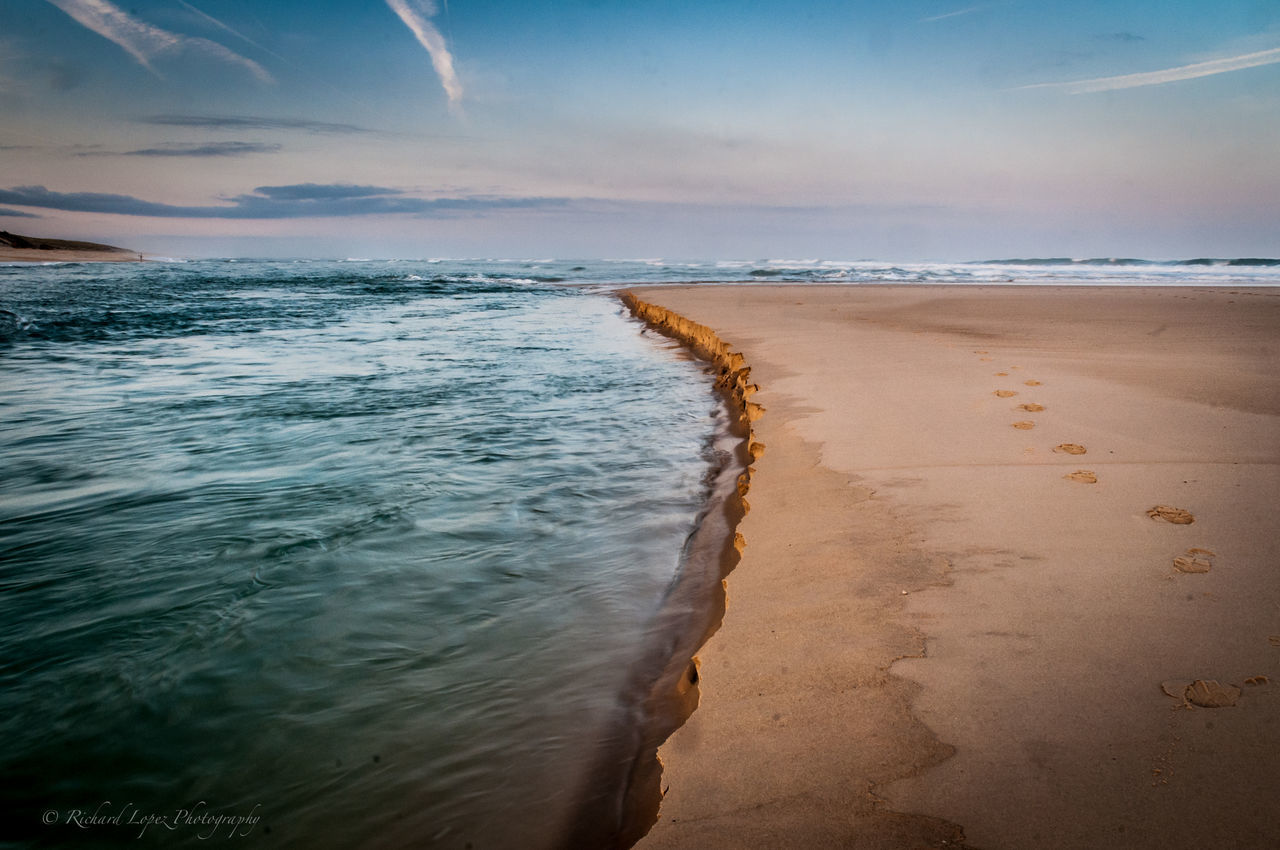 Life Is A Beach Beach Summer Views Enjoying Life Seascape Relaxing Nikon Edge Of The World Mimizan Les Landes