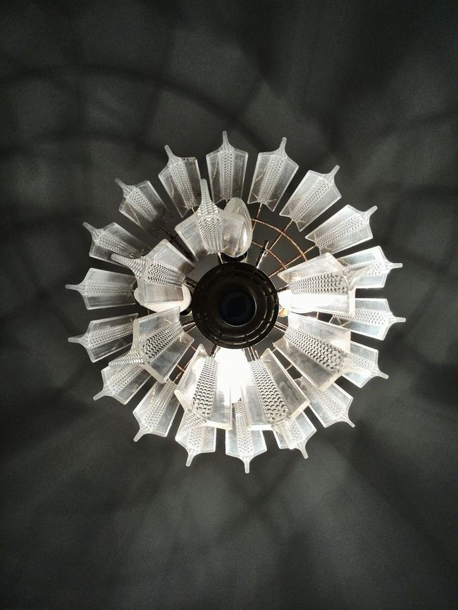 Chandelier. Light And Shadow Lamp Spaces Southafrica Precision