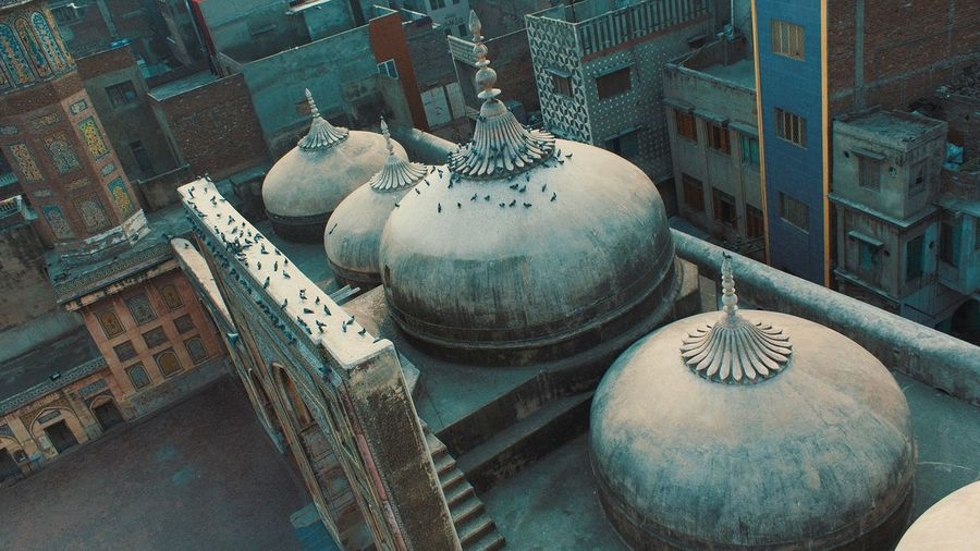 Architecture Bird Building Exterior Close-up Culture Day Heritage High Angle View Indoors  Mosque No People Pakistan Sculpture Statue