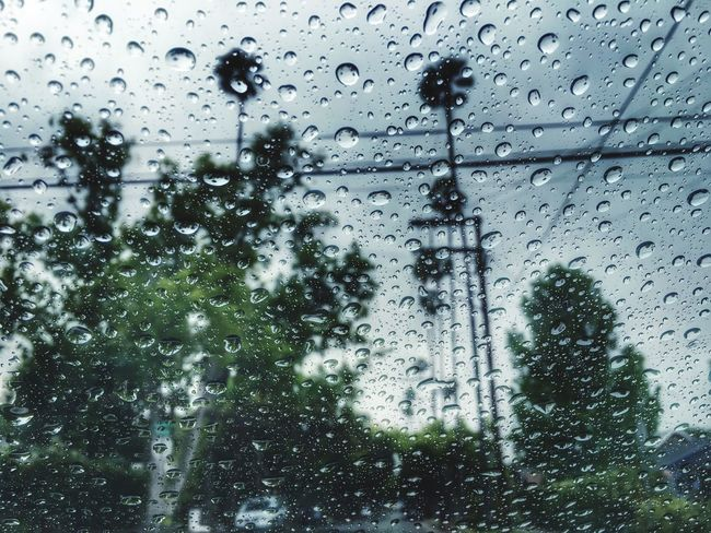 Rainy Day Check This Out Random Landscape Landscape_photography Raindrops Rain Day In The Car !