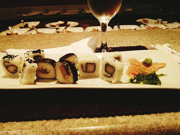 The Second Time That  I Ate Suchi :) Check This Out Taking Photos Doyoulikeit?