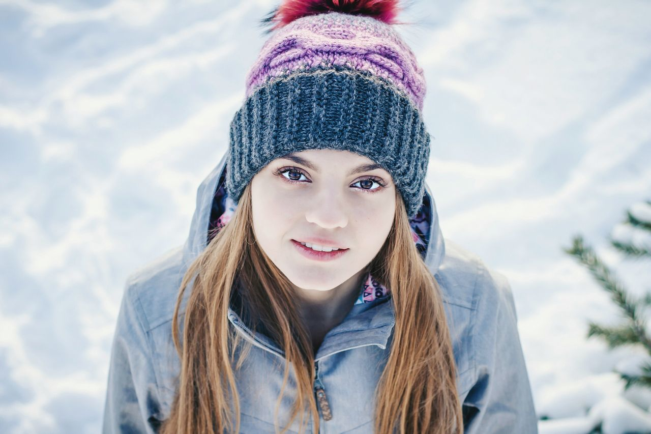 Winter Beautiful People Snow RigaCity Riga Latvia Rigaofficial Riga Riga Old Town Beauty People Headshot Teenager Warm Clothing Russia Knit Hat Cold Temperature Portrait Close-up Knitted  One Person Young Adult One Teenage Girl Only Rural Scene Scarf Females First Eyeem Photo EyeEmNewHere