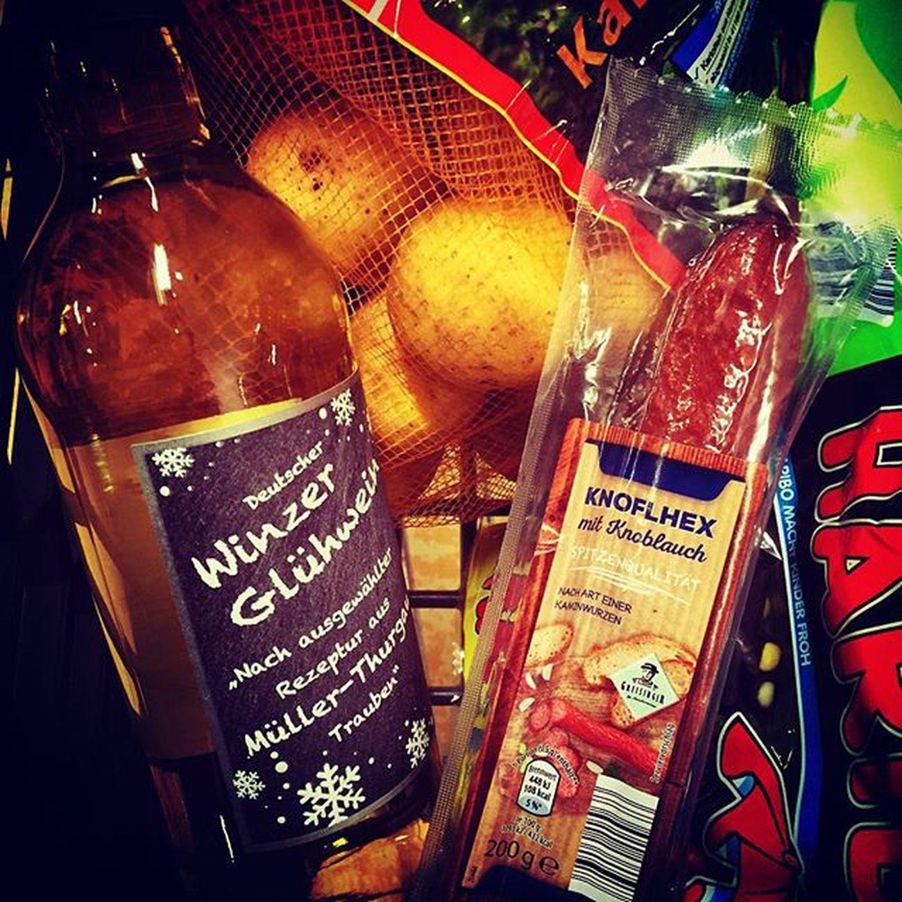Knoflhex Winzer Wein Glühwein Glüh Kartoffeln Haribo Lakritz Birnen Aldisüd Aldi Guten Dinge
