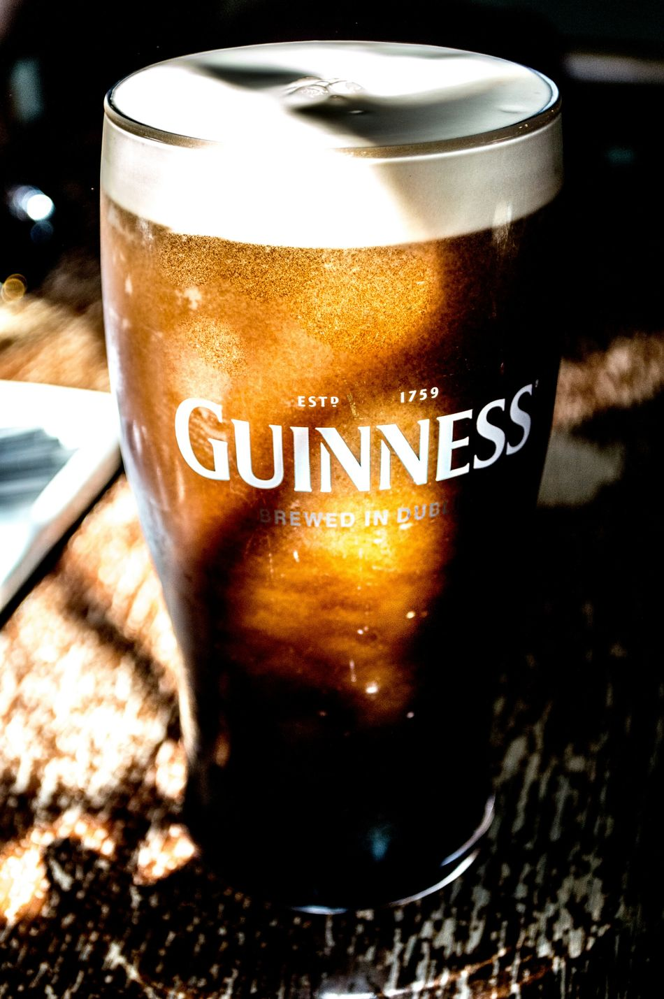 Good Things Come... Drink Guinness Guinness Time Sunlit